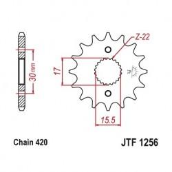 Piñon JTF1256 de acero con...