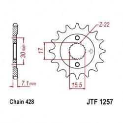 Piñon JTF1257 de acero con...