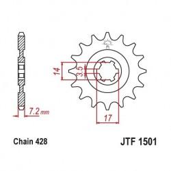 Piñon JTF1501 de acero con...