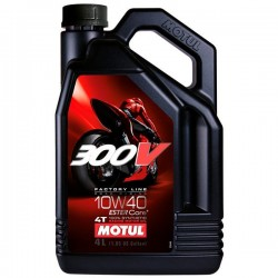 ACEITE MOTUL 300V FACTORY LINE ROAD RACING 10W40 4L