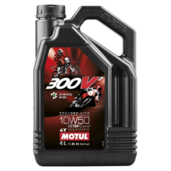 ACEITE MOTUL 300V² FACTORY LINE ROAD RACING 10W50 4L