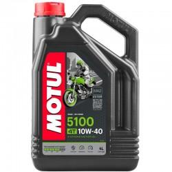 ACEITE MOTUL 5100 4T 10W-40 4L