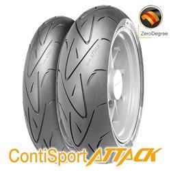 ContiSportAttack 120/70ZR17 (58W) + 180/55ZR17 (73W)
