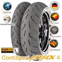 ContiSportAttack 4 120/70ZR17 (58W) + 160/60ZR17 (69W)