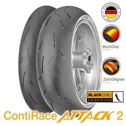 ContiRace 2 Street 120/70ZR17 (58W) + 190/55ZR17 (75W)