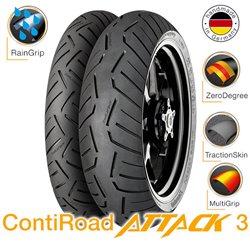 ContiRoad 3 120/70ZR17 (58W) + 160/60ZR17 (69W)
