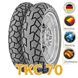 TKC 70 90/90-21 54H + 150/70R17 69V