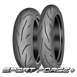 SPORTFORCE+ 120/70ZR17 (58W) + 190/55ZR17 (75W)