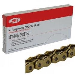 CADENA JMT 520X2 CON RETENES RX-Ring Gold