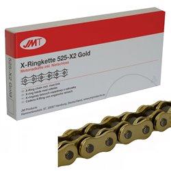 CADENA JMT 525X2 CON RETENES RX-Ring Gold