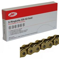 CADENA JMT 530X2 CON RETENES RX-Ring Gold