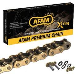 CADENA AFAM 520 XSR-G CON RETENES Xs RING