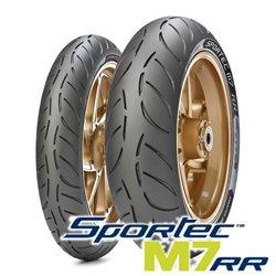 M7 RR 110/70R17 54W + 150/60R17 66W