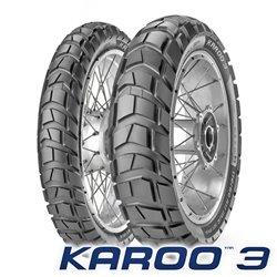 KAROO 3 90/90-21 54R + 150/70R17 69R