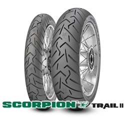 SCORPION TRAIL 2 120/70R19 60V + 170/60R17 72V