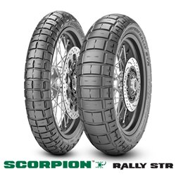 SCORPION RALLY STR 100/90-19 M/C 57V M+S TL F
