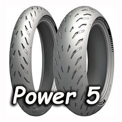 POWER 5 120/70ZR17 (58W) + 160/60ZR17 (69W)