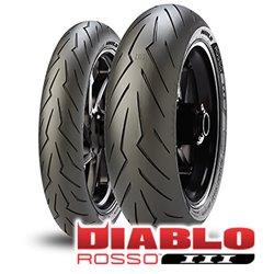 ROSSO 3 130/70R17 M/C 62H TL