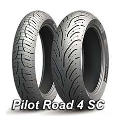 PILOT ROAD 4 SCOOTER 160/60R14 65H TL