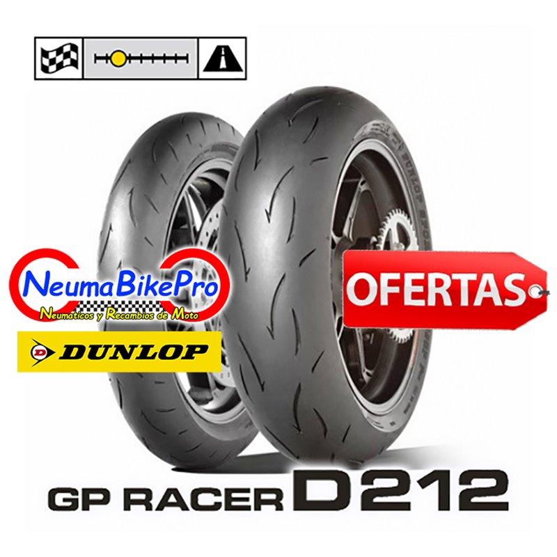 GP RACER D212 120/70ZR17 (58W) M + 180/55ZR17 (73W) E