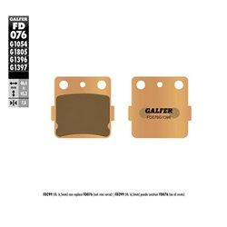 PASTILLAS DE FRENO GALFER FD076G1054