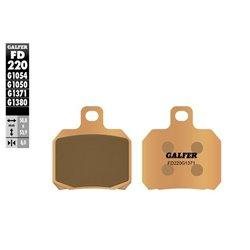 PASTILLAS DE FRENO GALFER FD220G1380