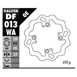 DISCO GALFER DF013WA