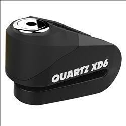 Candado de disco Oxford Quartz XD6 (pin de 6 mm) Negro