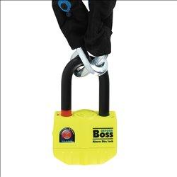 Candado con cadena Oxford BIG Boss Alarm de 12 mm