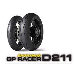 Juego Dunlop D211 GPRacer 120/70ZR17 58W M + 200/55ZR17 78W