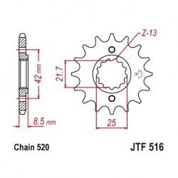 Piñon JTF516 de acero con...