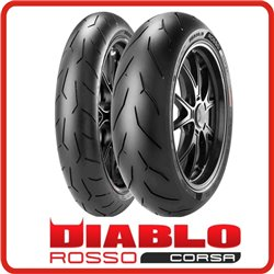 ROSSO CORSA 120/70ZR17 58W + 180/60ZR17 75W