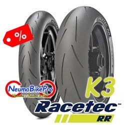 RACETEC RR K3 120/70ZR17 58W + 190/55ZR17 75W
