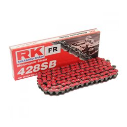CADENA RK sin retén roja 428SB/136