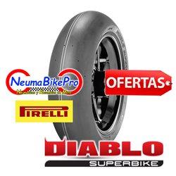DIABLO SUPERBIKE SC2 120/70R17 + 200/60R17 SC3