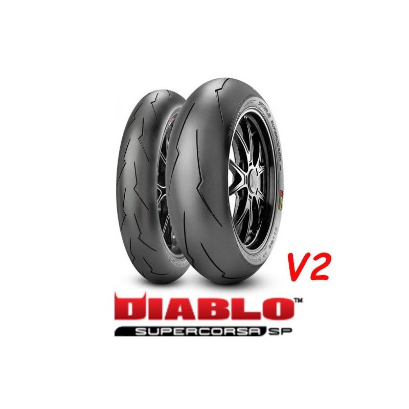 PIRELLI DIABLO SUPERCORSA SP V2 120/70ZR17 (58W) + 200/55ZR17 (78W)