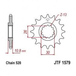 Piñon JTF1579 de acero con...